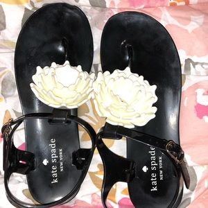 KATE SPADE NY FIALA FLOWER JELLY SANDALS SZ 6